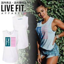 Live Fit(リブフィット) タンクトップ 国内発送・送料関税込み☆LIVE FIT☆Nation Women's Muscle Tank