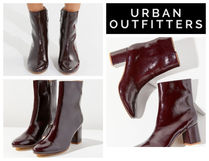 【UrbanOutfitters】♡Alana Crinkle Patent Boot