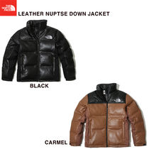 【THE NORTH FACE】LEATHER NUPTSE DOWN JACKET★2色