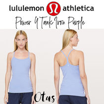 追跡込【lululemon】Power Y Tank Iron Purple 定番タンク