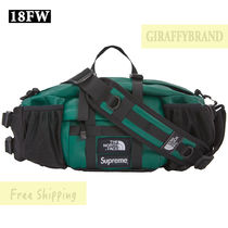 SUPREME The North Face Leather Mountain Waist Bag