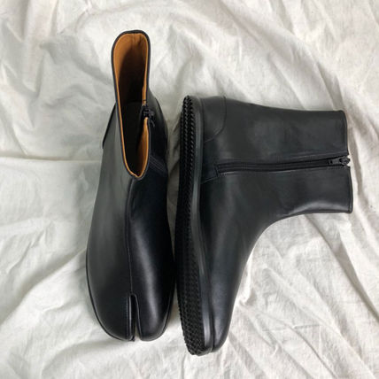 ASCLO ブーツ ◆男女共用◆ASCLO◆TABI ANKLE BOOTS◆HANDMADE LEATHER SHOES(5)