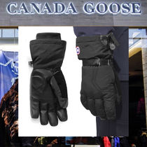 【18AW NEW】 CANADA GOOSE_men/ARCTIC DOWN GLOVES 手袋/BK/