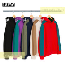 M-XL ☆ 18FW / AW SUPREME Paneled Hooded Sweatshirt