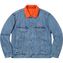 【WEEK11】Supreme x Levi's quilted reversible truck jkt/ S