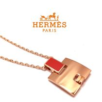 HERMES H146201FO 22 ROUGE CORAIL アイリーンペンダント (新品)