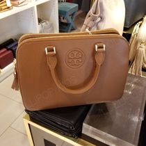 2018AW♪ Tory Burch★ BOMBE SMALL ROUND DBL ZIP SATCHEL