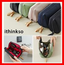 ithinkso(アイシンクソー) ファッション雑貨・小物その他 ☆韓国の人気☆【ITHINKSO】☆BELL MAKE-UP POUCH☆5色☆