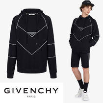 【GIVENCHY】2019新作!コントラスト ステッチ ロゴ フーディ