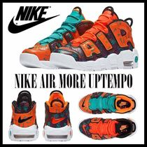 大人もOK★NIKE★モアテン★21-25cm★MORE UPTEMPO.Total Orange