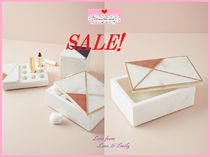 最終SALE☆ラス1即納【Anthro】Marble Inlay Jewelry Box