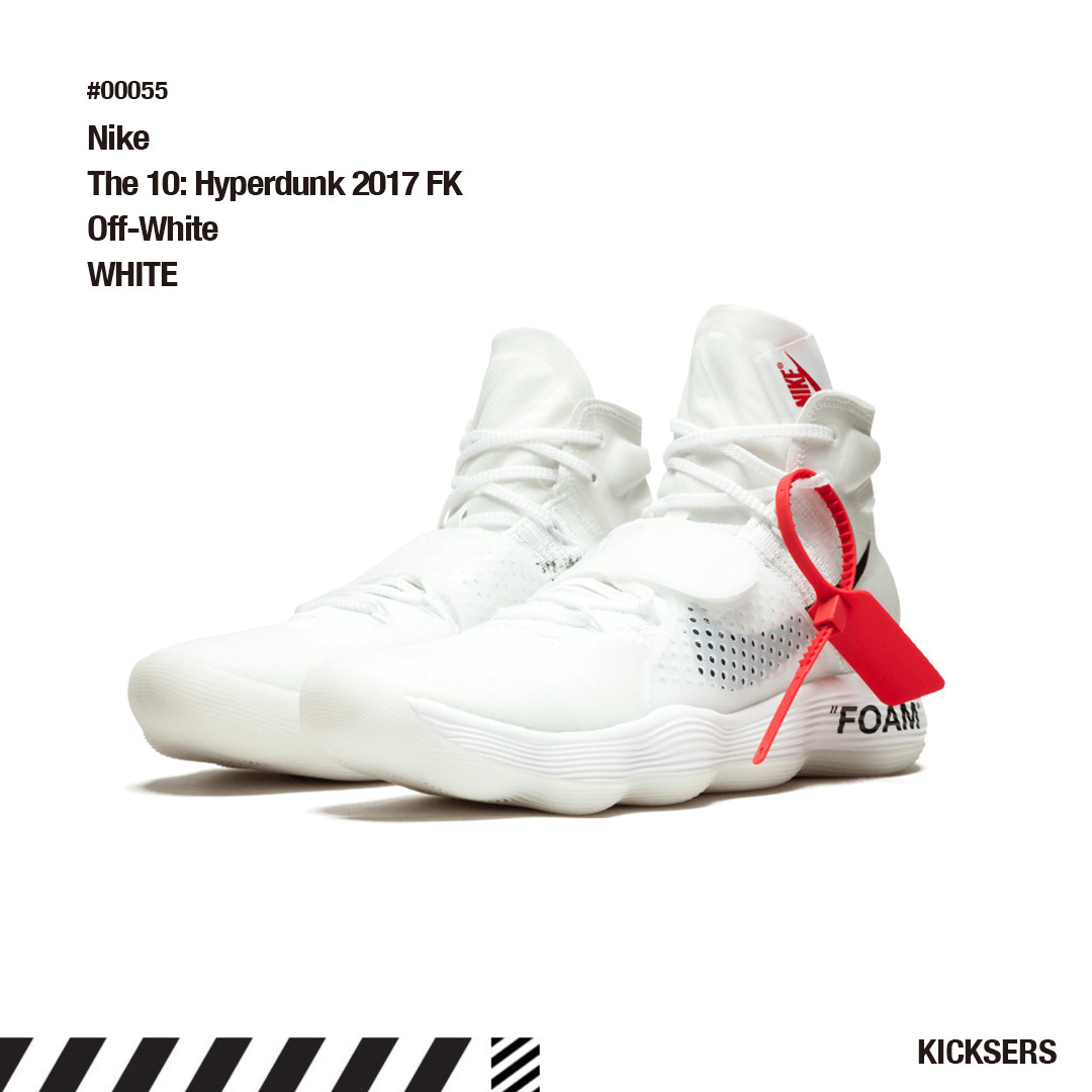 58cd544ae6181 Nike React Hyperdunk 2017 Flyknit Off-White. ※商品画像をクリックすると拡大画像が表示されます