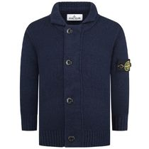 Boys Navy Knitted Cardigan
