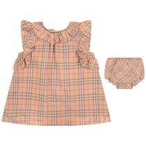 Baby Girls Pink Carla Dress With Knickers
