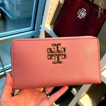 Tory Burch Britten Continental Wallet 長財布★大人上品ピンク