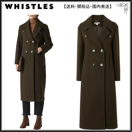 8b305a6b029d9 WHISTLES コート  海外限定 WHISTLESコート☆Double Breasted Maxi Coat ...