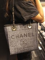 2019 RESORT店頭入荷★CHANEL★Deauville tote in BLK (S)