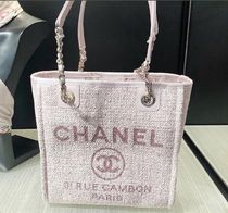 2019 RESORT店頭入荷★CHANEL★Deauville tote in pink (S)