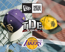 TDE x LA Lakers x New Era Snapback Cap トリプルコラボ 激レア