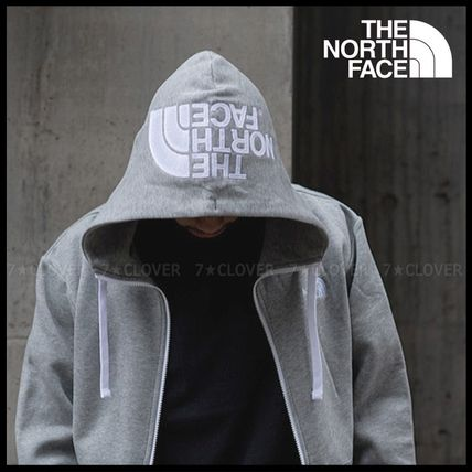 THE NORTH FACE パーカー・フーディ 国内発送・正規品★THE NORTH FACE★HOOD LOGO HOODIE★MIX GREY(2)