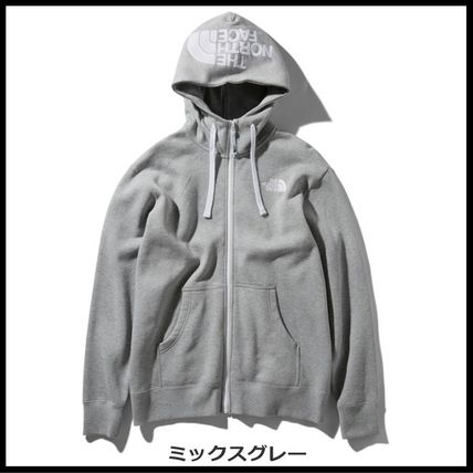 THE NORTH FACE パーカー・フーディ 国内発送・正規品★THE NORTH FACE★HOOD LOGO HOODIE★MIX GREY(8)