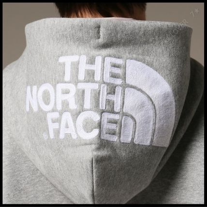THE NORTH FACE パーカー・フーディ 国内発送・正規品★THE NORTH FACE★HOOD LOGO HOODIE★MIX GREY(9)