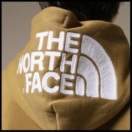 THE NORTH FACE パーカー・フーディ 国内発送・正規品★THE NORTH FACE★HOOD LOGO HOODIE★MIX GREY(13)