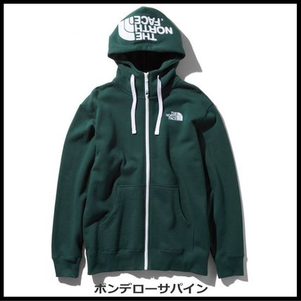 THE NORTH FACE パーカー・フーディ 国内発送・正規品★THE NORTH FACE★HOOD LOGO HOODIE★MIX GREY(19)