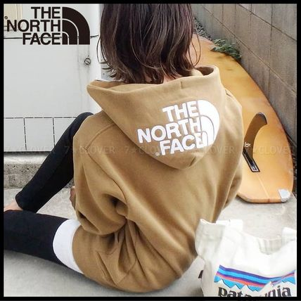 THE NORTH FACE パーカー・フーディ 国内発送・正規品★THE NORTH FACE★HOOD LOGO HOODIE★MIX GREY(3)