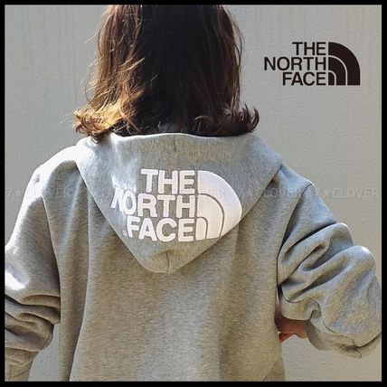 THE NORTH FACE パーカー・フーディ 国内発送・正規品★THE NORTH FACE★HOOD LOGO HOODIE★MIX GREY