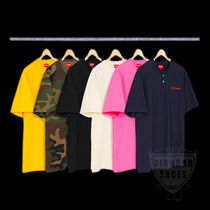 FW18 SUPREME PIQUE SS HENLEY 全色 S-XL 送料無料 WEEK11