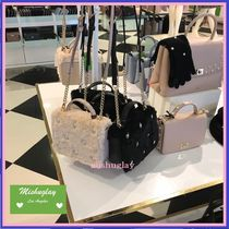 【kate spade】可愛いふわもこ素材♪ 2wayポシェット maisie★