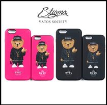 ☆関税込/安全発送☆STIGMA★COMPTON BEAR iPhone CASE 2色