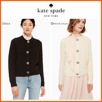 18-19AW!!最新作☆kate spade☆embellished cable cardigan