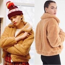 【Urban Outfitters★新作】大人気♪ Cropped Teddy Jacket