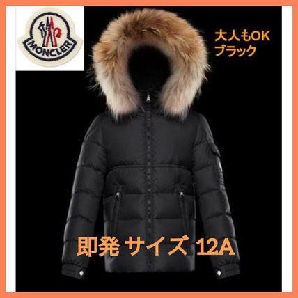 MONCLER キッズアウター 即発 確保済 大人もOK MONCLER NEW BYRON ダウン ブラック黒 12A