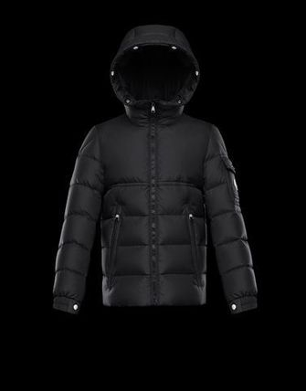 MONCLER キッズアウター 即発 確保済 大人もOK MONCLER NEW BYRON ダウン ブラック黒 12A(4)