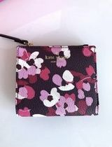 SALE!!【Kate Spade】young lane  fabric♪花柄コンパクト財布♪