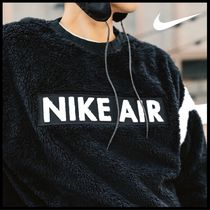 国内発送・正規品★NIKE MEN'S NSW SHERPA FLEECE CREW★BLACK