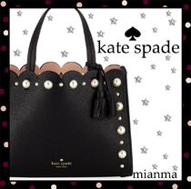 Kate Spade★ヘイズ ストリート パール サム 黒★SALE★