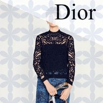 19CRUISE*DIOR*シルク ミックス セーター Conelly モチーフ 黒