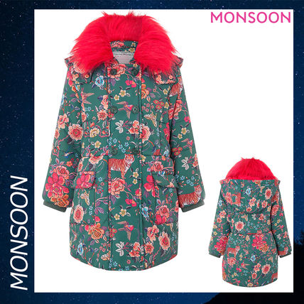 2c642e0150ec BUYMA|Monsoon KATSUKO PADDED COAT コート アウター 花柄 カーキ 緑 ...