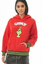 Forever 21 The Grinch Faux Shearling Grinch フーディー
