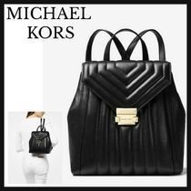 Michael Kors Whitney Quiltedレザーバックパック 送料関税込み