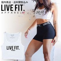Live Fit(リブフィット) タンクトップ 国内発送・送料関税込み☆LIVE FIT☆Live Fit Crop Tank