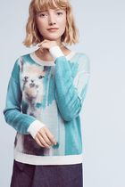 即発! サイズS Anthropologie farm animal pullover