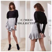 17AW【CAMEO】PHASE KNIT SKIRT