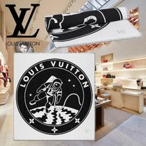 18AW Louis Vuitton(ルイヴィトン) LV SATELLITE BLANKET 白