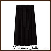 MassimoDutti♪SKIRT WITH FRONT SLIT DETAIL