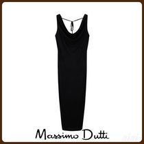 MassimoDutti♪DRAPED FRONT DRESS